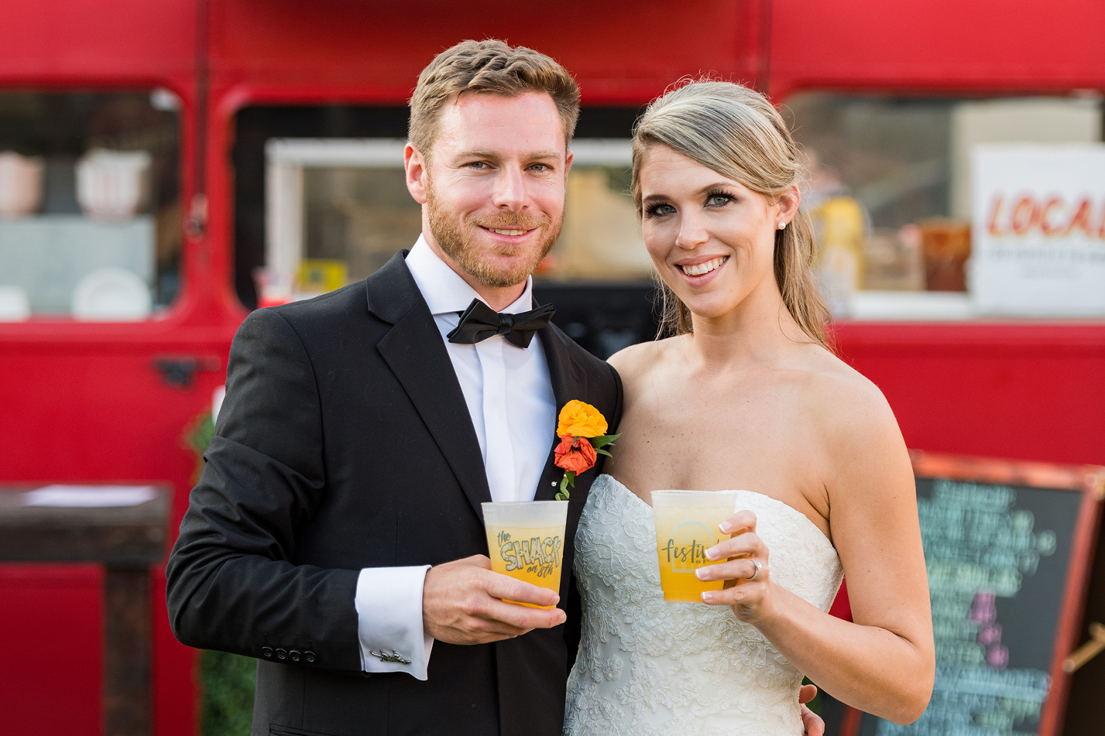 Food Truck Bride and Groom